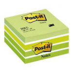 Post-it cubo verde acquerello  76x76 450ff 44715