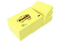 Post it 38mm x 51mm giallo 653ge  32030