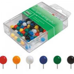 Spilli ufficio color assortiti box 100pz 467