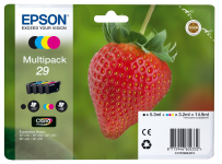 Multipack ink 29 fragola conf.4