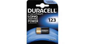 Duracell ultra cr123a blister 1pz.